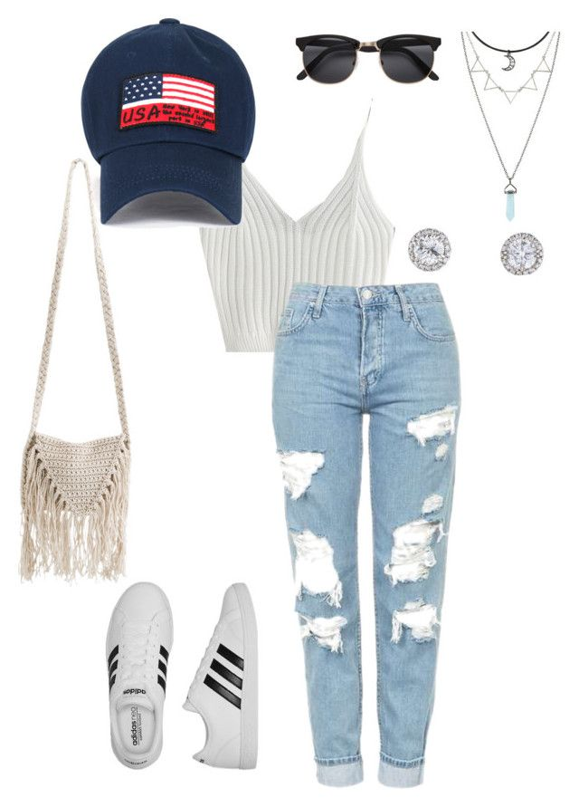 """""""Festivals night. (1/4)"""" by itsjustamething ❤ liked on Polyvore featuring Topshop, adidas and Billabong"""