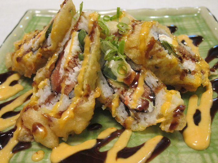 Afro ninja roll food sushi roll menu sushi rolls