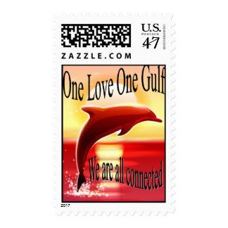 One Love One Gulf Postage