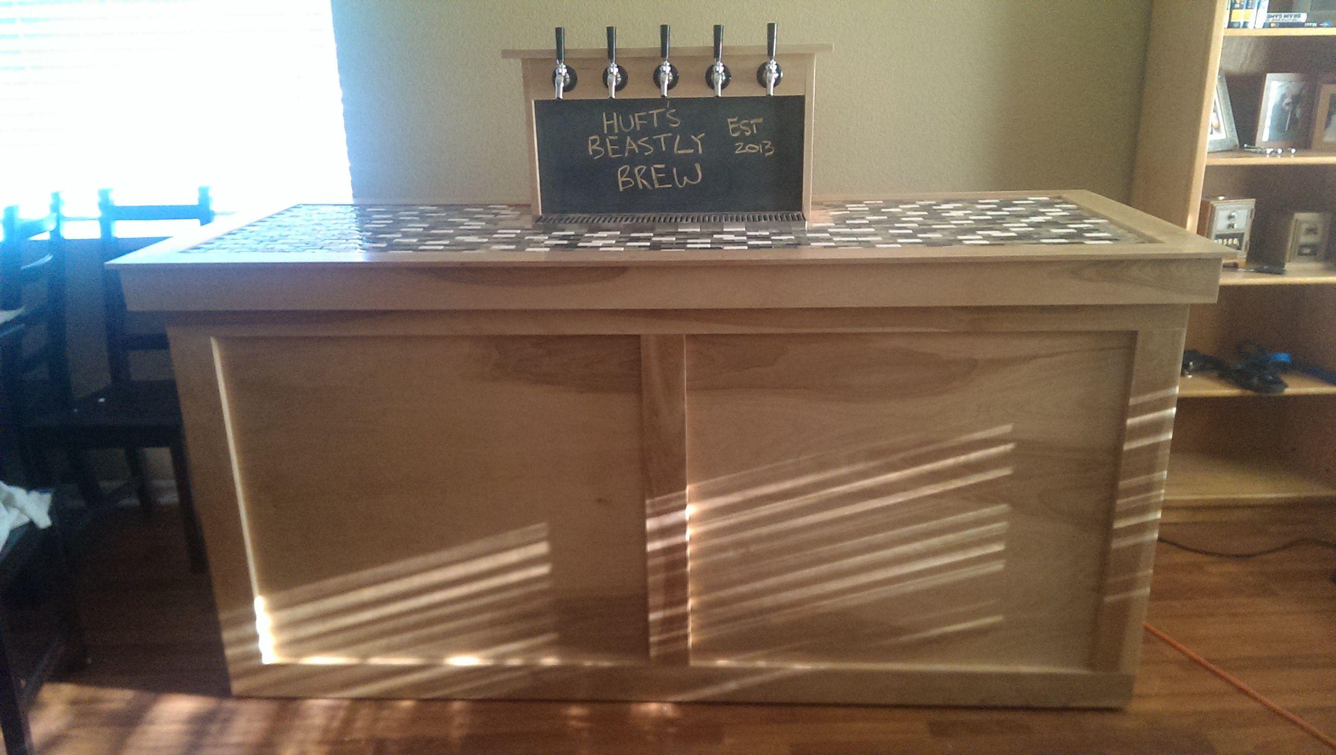 5 tap coffin keezer build! - Home Brew Forums   Brewing   Pinterest