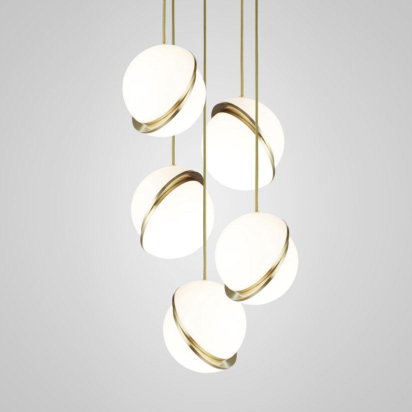 Mini Crescent Multi Light Pendant By Lee Broom Cre0160 In 2020 Multi Light Pendant Pendant Lighting Lee Broom