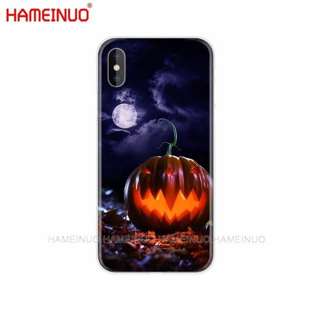 Halloween theme cell phone case/cover for iPhone X 8 7 6