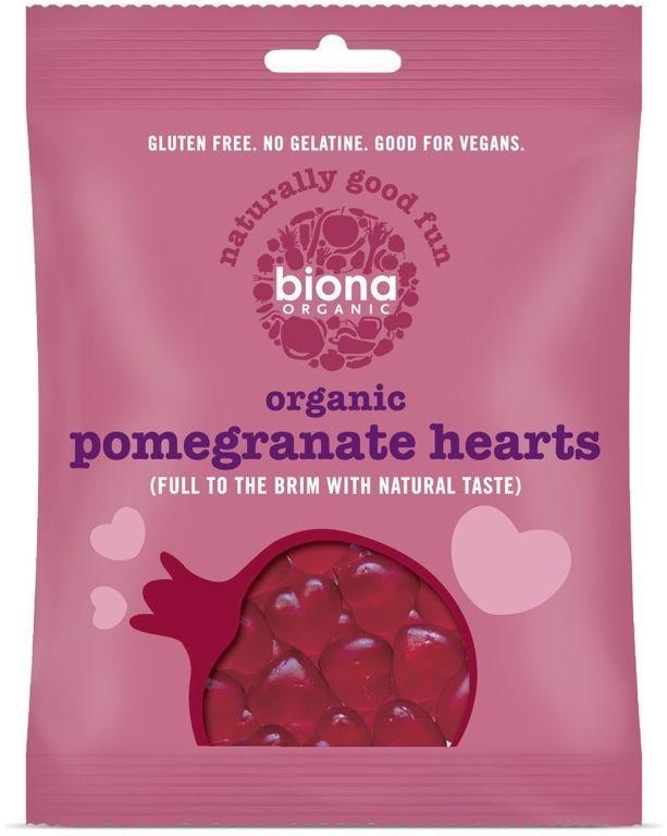 Biona Organic Pomegranate Hearts, 10 X 75g   http://www.ebay.co.uk/itm/Biona-Organic-Pomegranate-Hearts-10-X-75g-/252324768612?ssPageName=STRK:MESE:IT