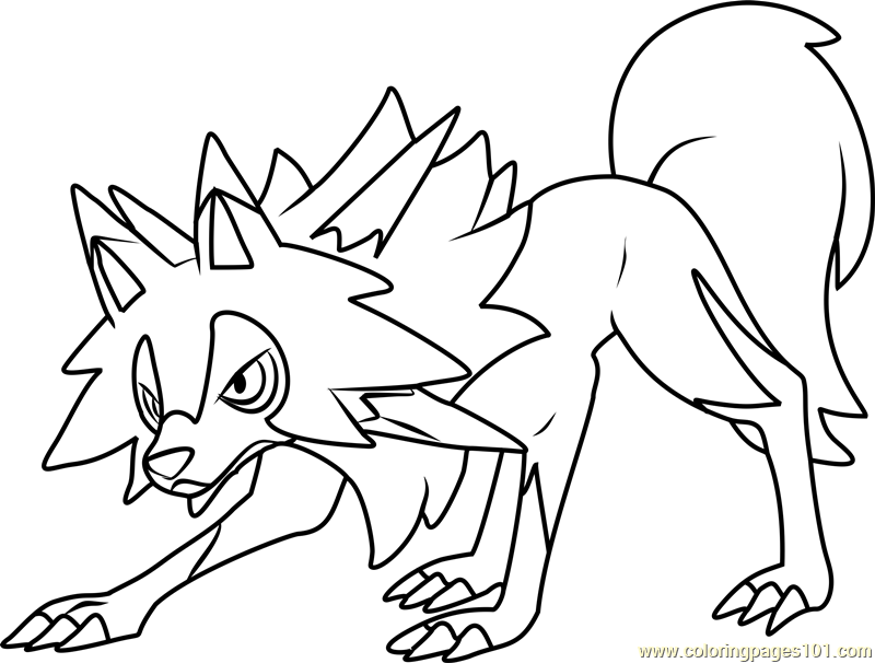 Image Result For Rockruff Coloring Pages Moon Coloring Pages Pokemon Coloring Pages Pokemon Coloring Sheets