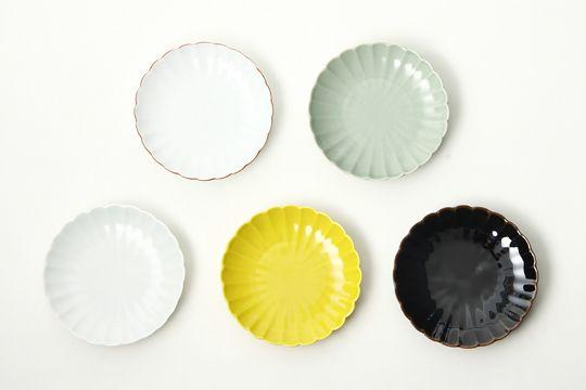陶悦窯 菊型取皿