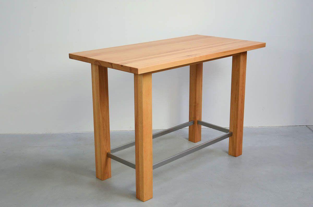 buche massiv bartisch stehtisch tresentisch tisch stehtisch und esstisch. Black Bedroom Furniture Sets. Home Design Ideas