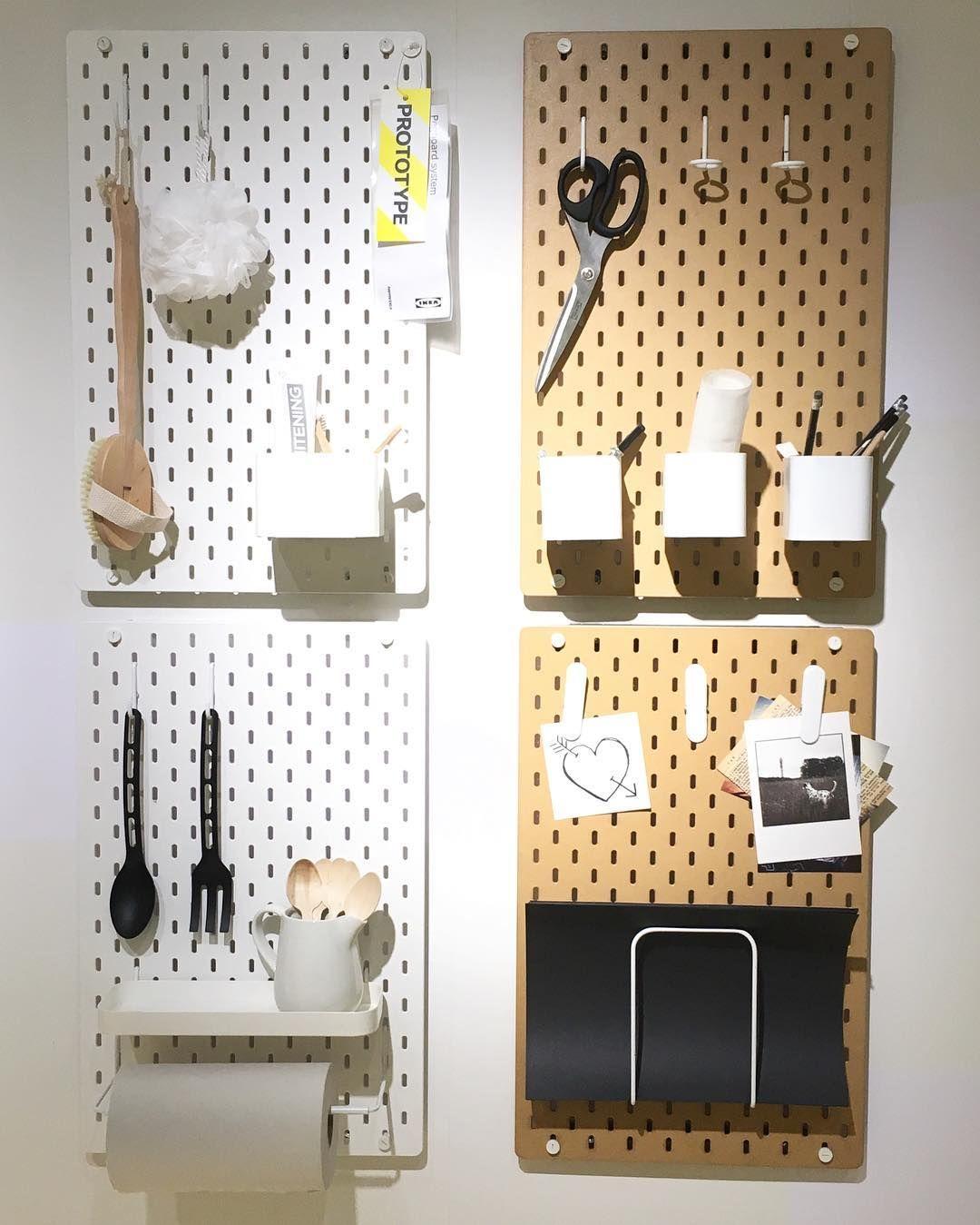 Ikea Ps 2017 Pegboard Tavlene Sk 229 Dis Little Things