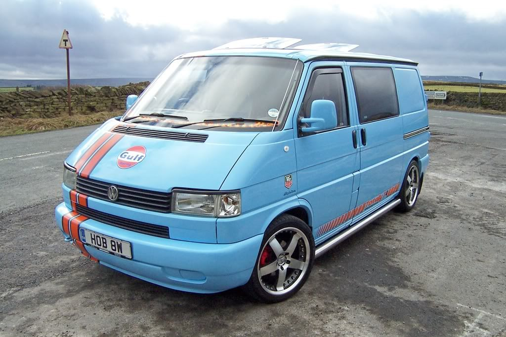 VW T4.  The workhorse of Rogue. If you love cars and driving, check out the European driving holiday at www.roguerun.co.uk