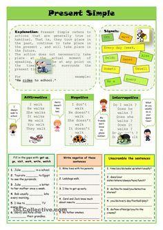 Present Simple | Teaching English | Teaching english grammar