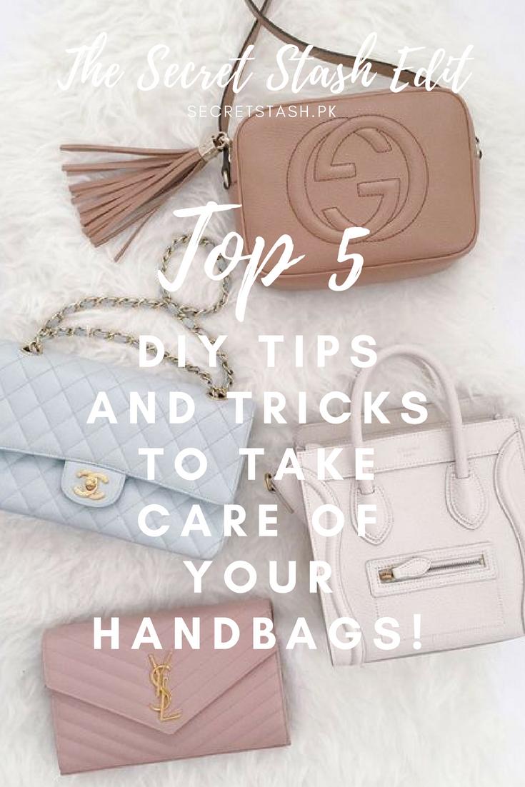 Top 5 Diy Tips Tricks To Take Care Of Your Handbags Dior Bag Bags Brown Bags