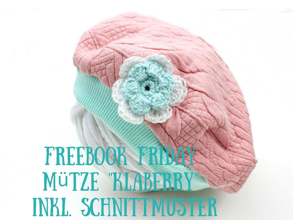 Freebook Friday: Mütze Klaberry inkl. Schnittmuster | Die aktuelle ...