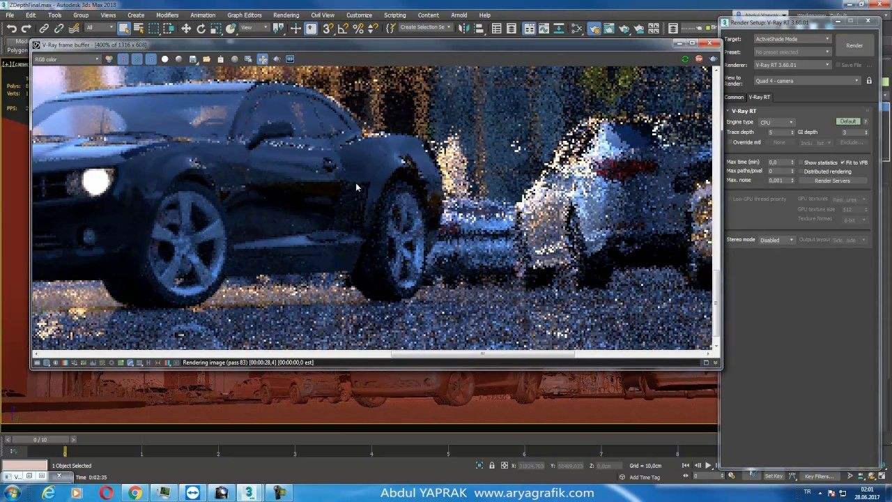 V-Ray for Maya – Professional Rendering Software for VFX