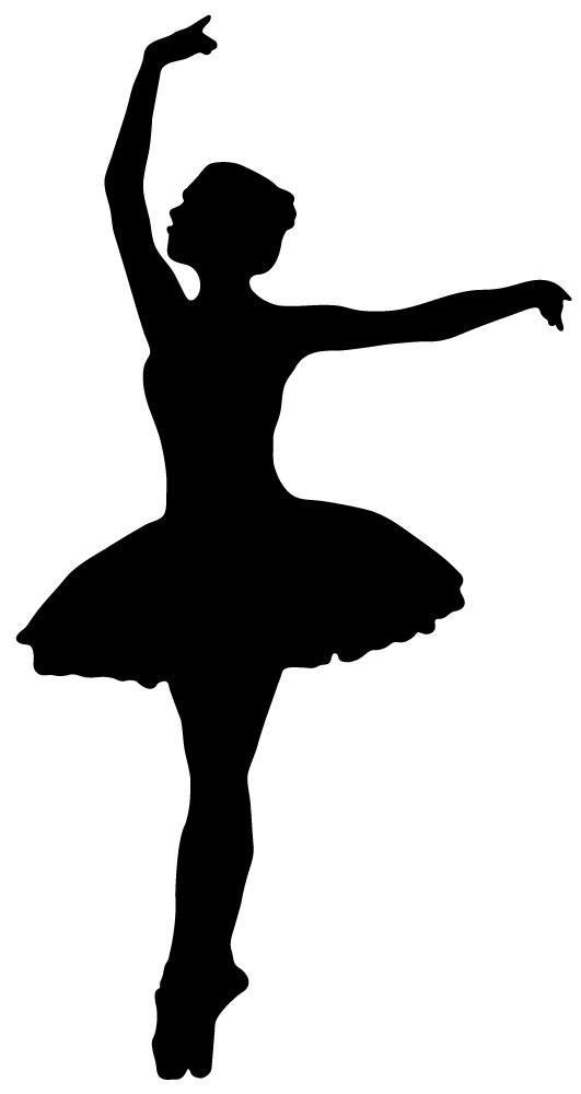 "Ballerina Ballet Dance Girl Tutu 8.5"" x 11"" Stencil FAST ... |Pretty Girl Dance Stencil"
