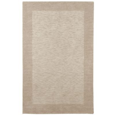 Heather Border Rugs Oyster