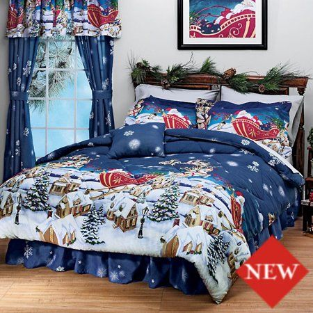 Themed Queen Size, Queen Size Holiday Bedding