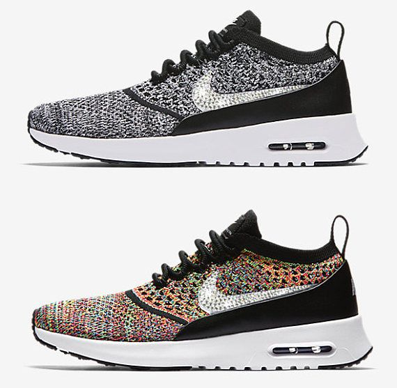 584b56451904 New blinged nikes Women s Nike Air Max Thea Flyknit