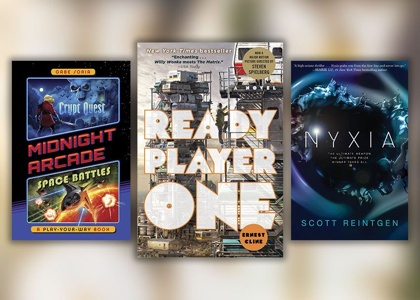 If You Ve Read Ready Player One And Are Looking For Books Like It Check Out These Titles They Ll Fill The Void Le Ready Player One Player One Books For Teens