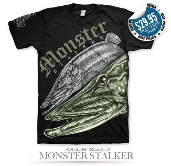 adf78245ffda67 FISHBUM Fishing Clothing Presents Monster Stalker – Fishbum Outfitters