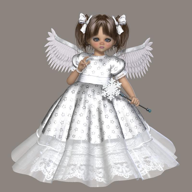 #054 #Melanie #Angel #ClipArt