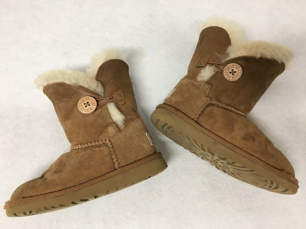 ab7b9bc7d0a eBay Sponsored) Toddler UGG Australia Bailey Button 5991 Chestnut ...