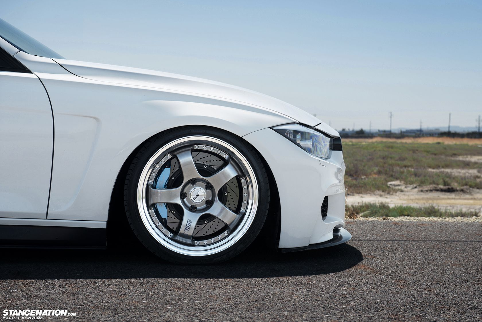 Coast To Coast // Courtney's Aggressive BMW F30. (con