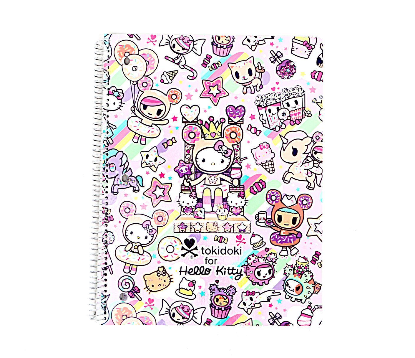 Hello Kitty Tokidoki Blanket: Tokidoki X Hello Kitty Lined Notebook: Sweets