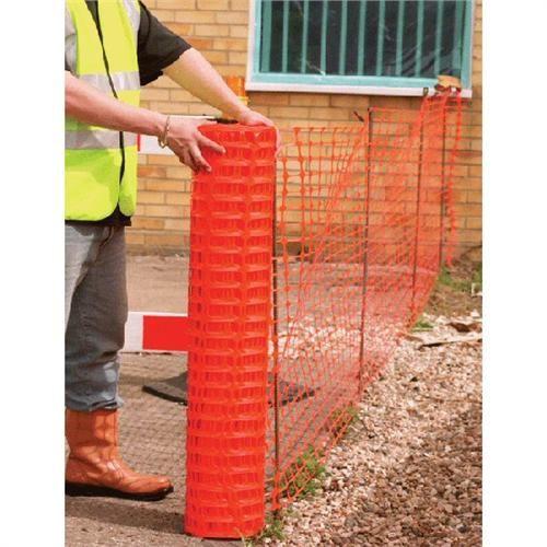 Trademaster Barrier Mesh Fencing 7.0kg 1m x 50m - Orange ...