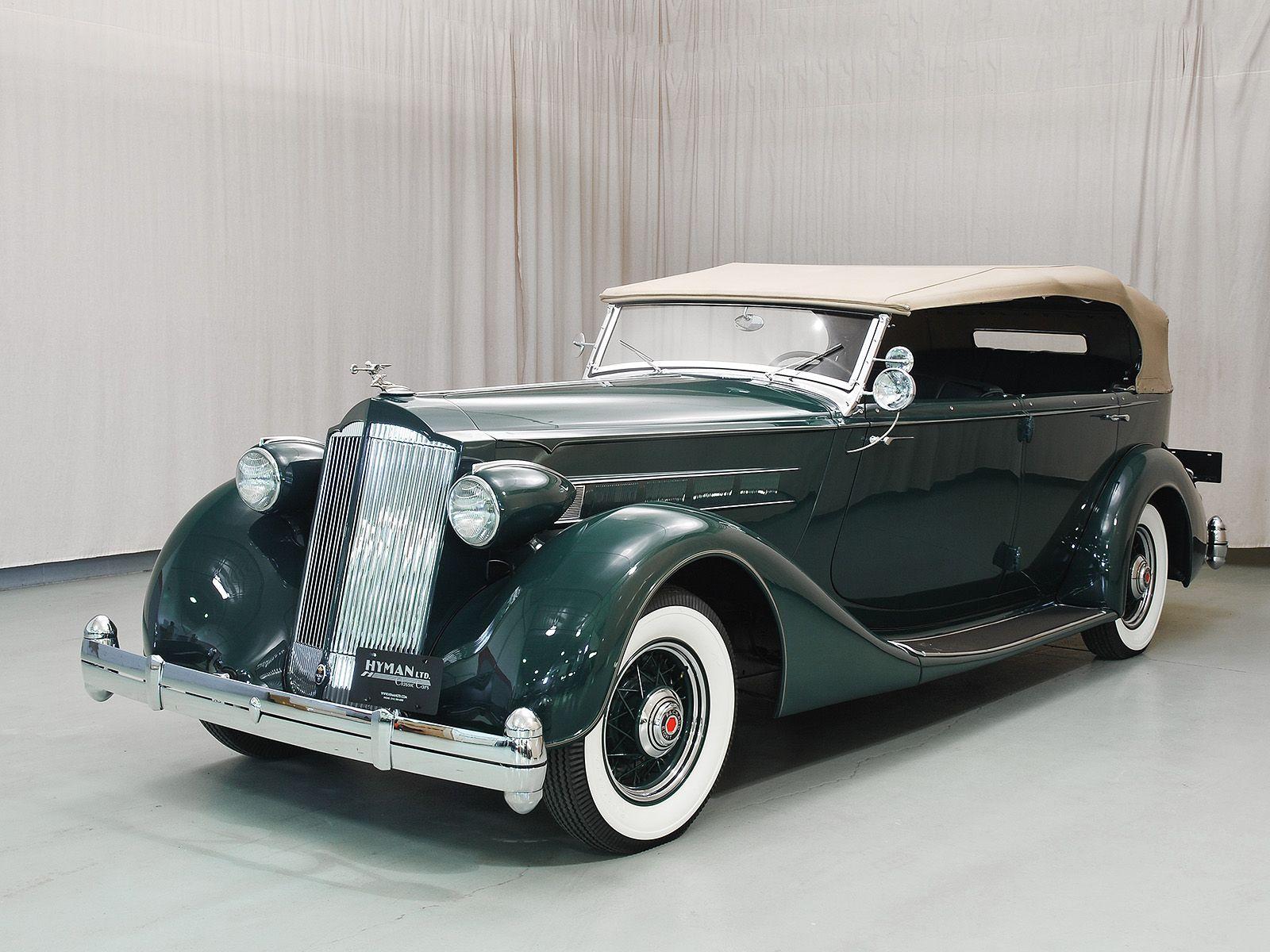 1936 Packard Eight Phaeton - Hyman Ltd. Classic Cars. Formerly ...