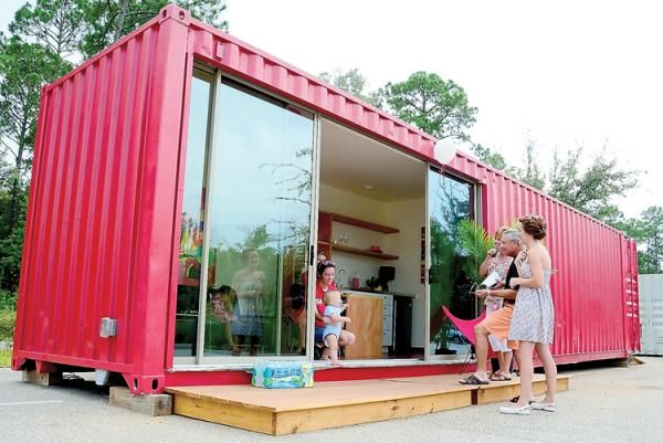 Shipping Container Garage Conversion //staugustine.com/news/local . & Shipping Container Garage Conversion http://staugustine.com/news ... pezcame.com