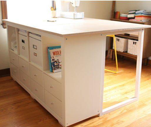Ikea Kallax Expedit Amp Furniture Makeovers Craftroom