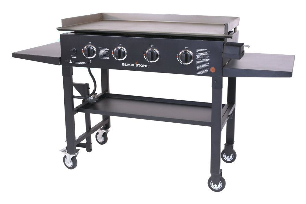 Griddle Cooking Station Bbq Gas Grill Flat Top Cooking Commercial Outdoor Patio Flat Top Grill Propane Gas Grill Griddle Grill