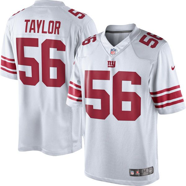 ... nfl jerseys youth Lawrence Taylor New York Giants Nike Retired Player  Limited Jersey - White . e84038766