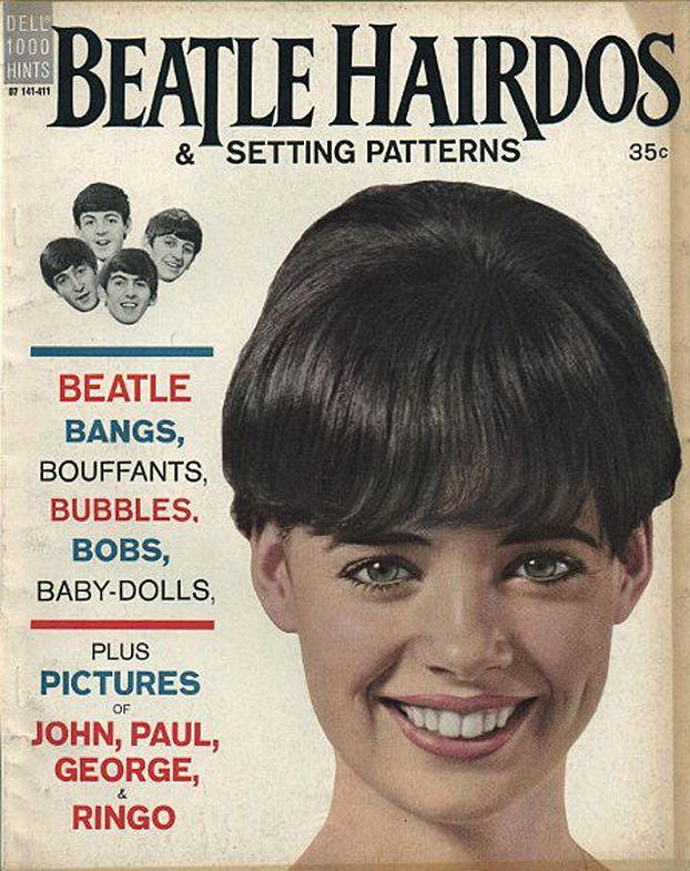 Beatle Hairdos Setting Patterns The Beatles Hairdo Beatles Memorabilia
