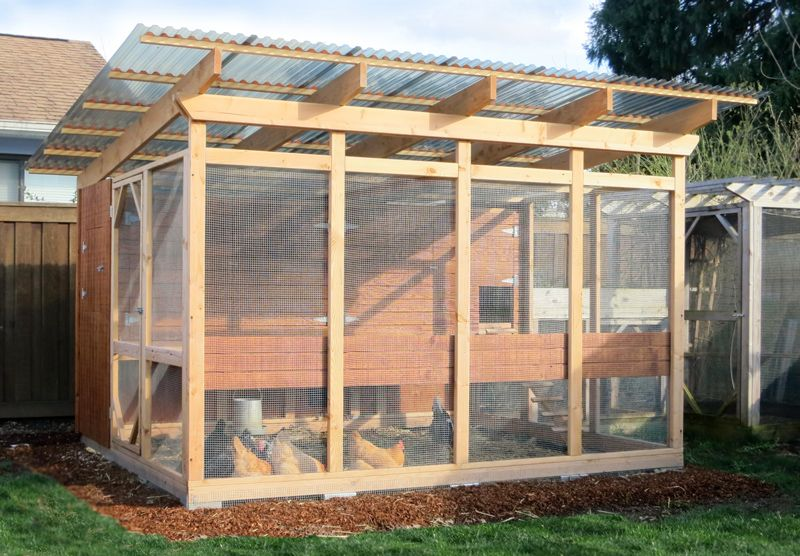 the garden loft large walk-in chicken coop plans | chickens