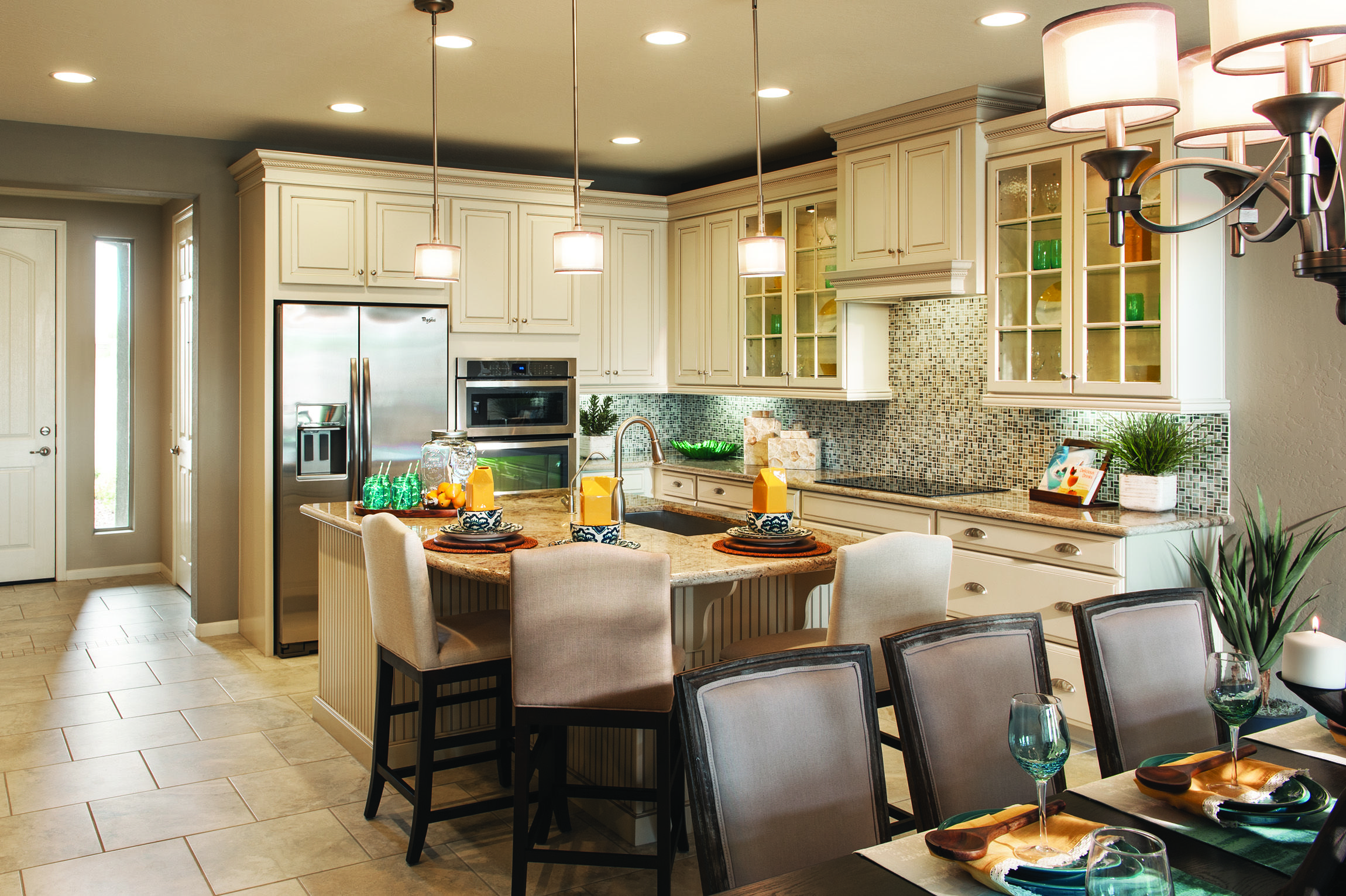 mattamys balboa model a bright and beautiful kitchen crosspointe community peoria - Mattamy Homes Design Center
