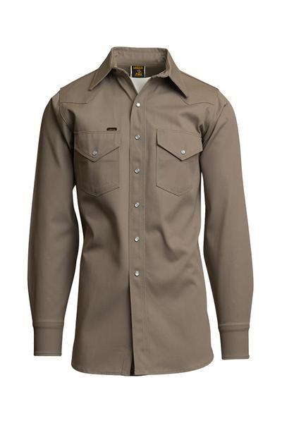 15a640d91d76 LAPCO™ heavy-duty non-FR welding shirts have the snaps and heavier  materials that welders prefer. These shirts simplify work life and include  many features ...