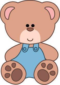 Clipart urso Teddy, clipart escola, ursinho de pelúcia, urso do ...