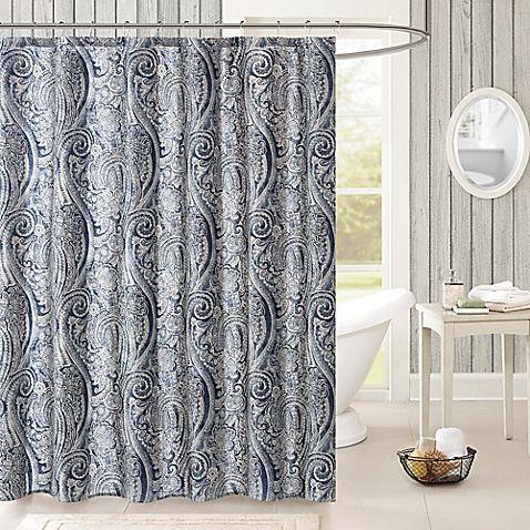 Harbor House Stella Shower Curtain In Navy Grey