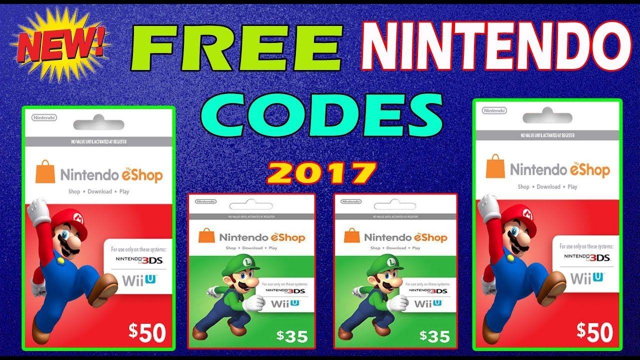 Nintendo eShop Code Generator hack no survey - Nintendo