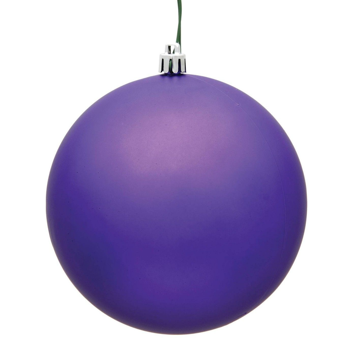 Vickerman 2 4 24ct Matte Ball Ornament Uv Coated Purple In 2020 Ball Ornaments Christmas Ornaments Ornaments