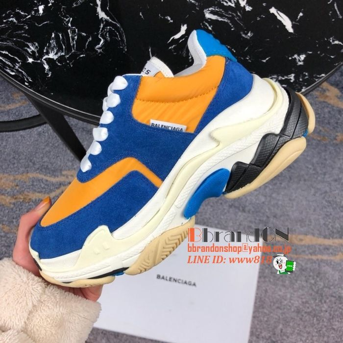 4e87c53ae1cb バレンシアガメンズ靴2019新作☆ブランドスニーカー紳士靴オシャレの欠けないアイテムブランド
