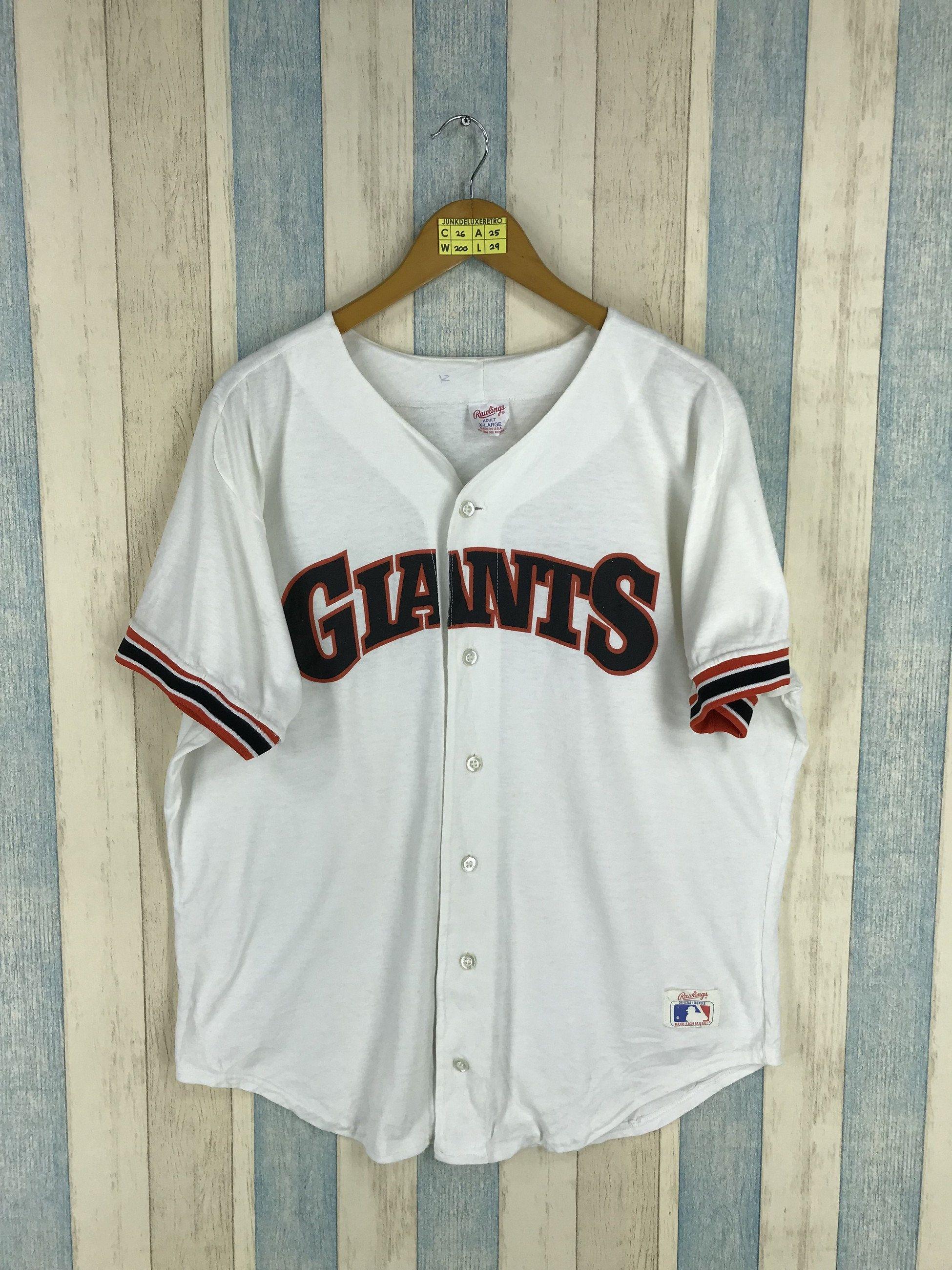 e84ebb1b GIANTS Baseball Fan Club Jersey Shirt Xlarge Baseball Jersey Major League  Baseball Vintage San Francisco Giants Jersey Mlb Size XL by JunkDeluxeRetro  on ...
