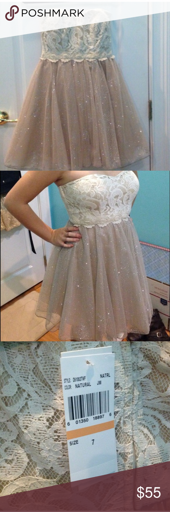 Strapless Dress Brand new and very cute Dresses