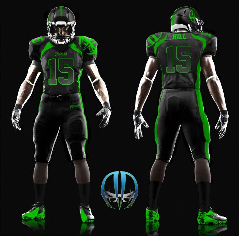 Panic Football Home Uniform (With images) Football gear