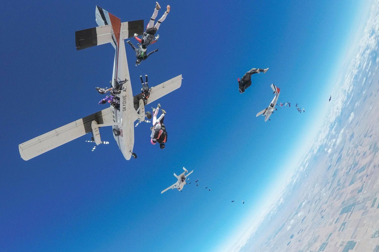This Is What Takes To Break A Skydive World Record Skydiving World Records Skydive Arizona