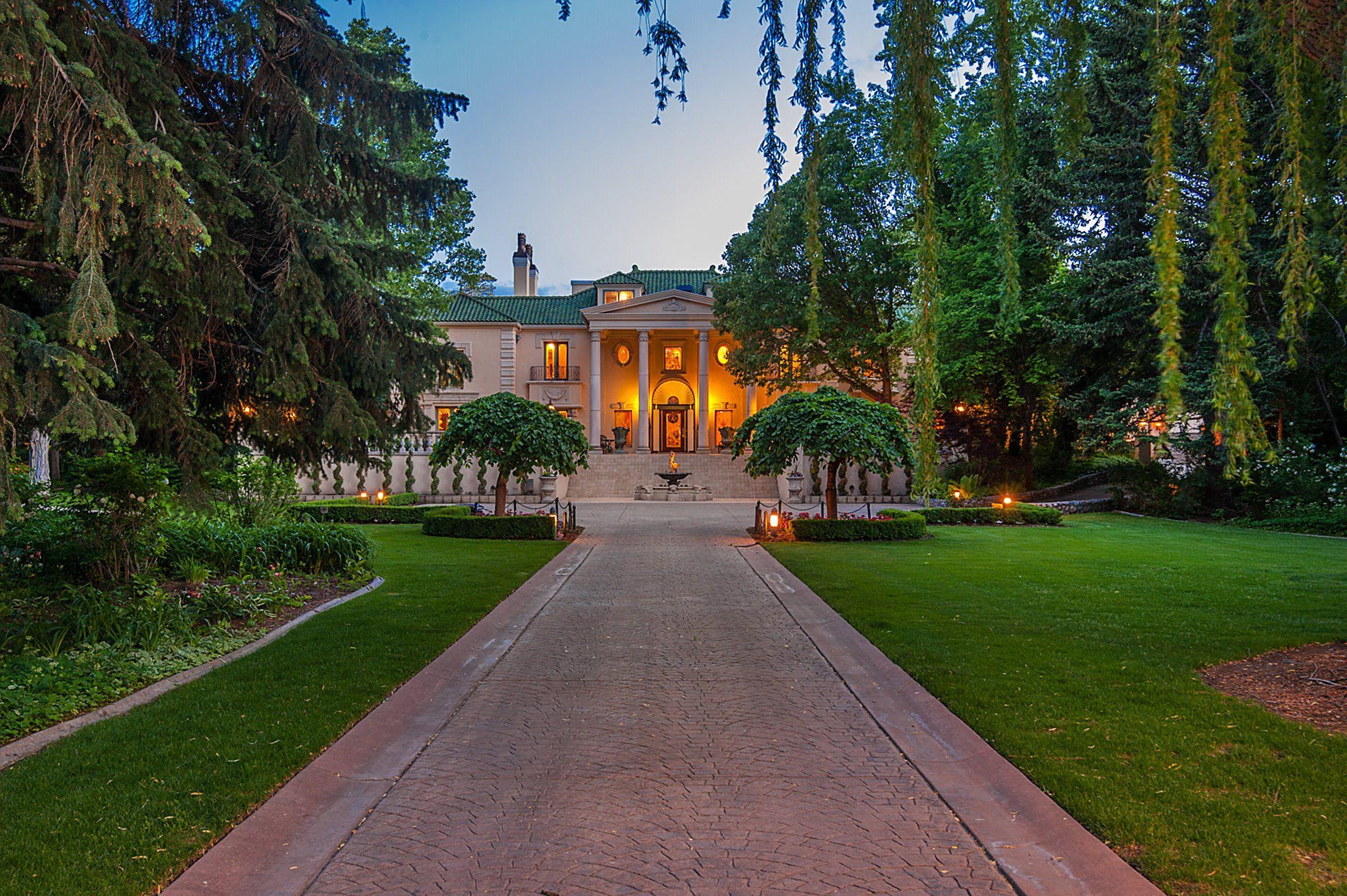 Utah Luxury Homes   The Original Walker Estate   2520 Walker Ln   Full V..