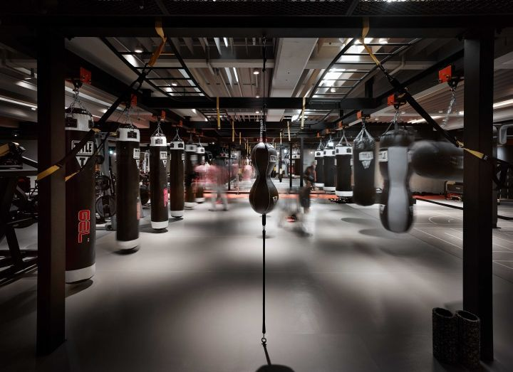Monochromatic Boxing Centers Boxing Gym Boxing Gym Design Gym Design