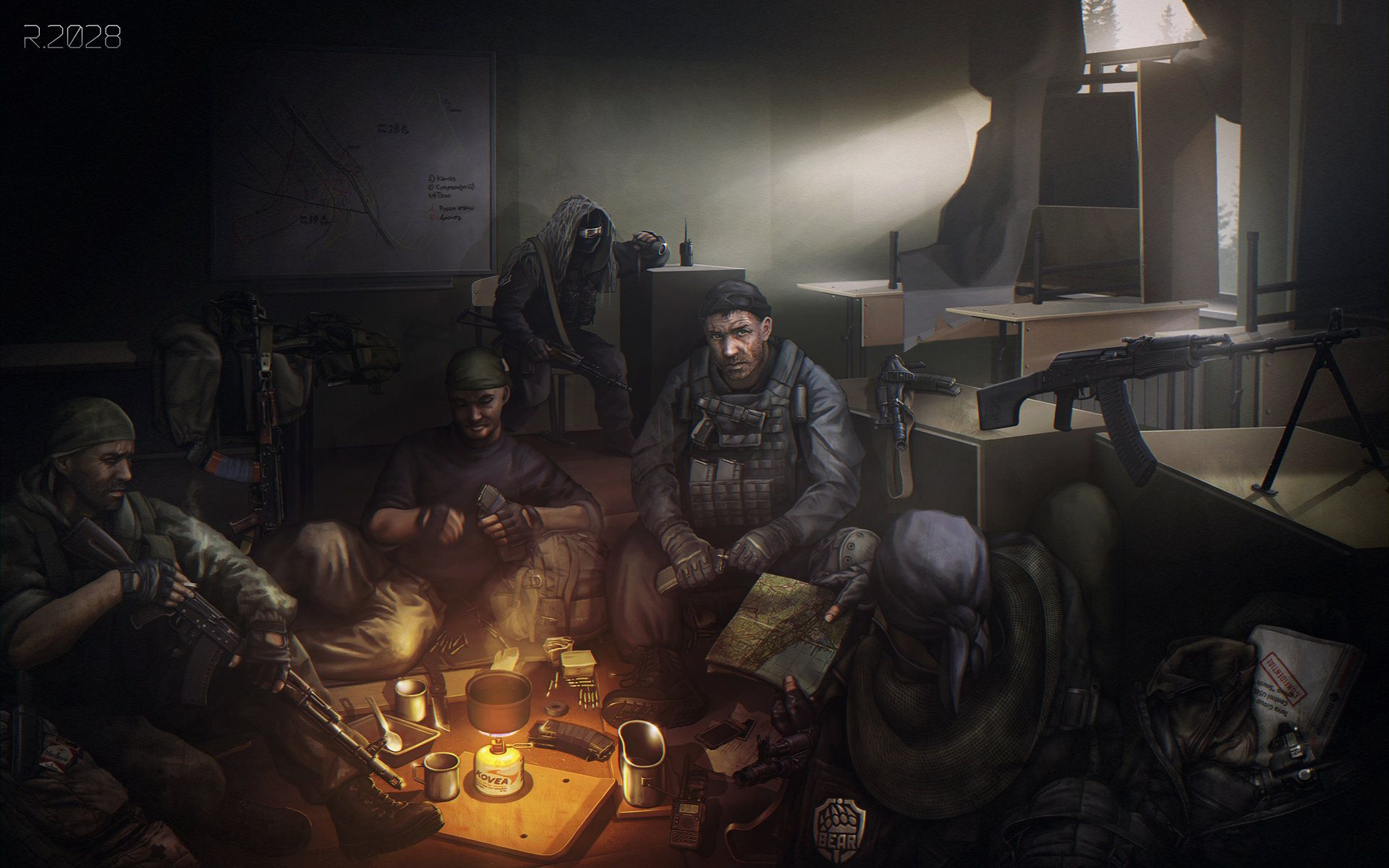 Pin By Jack Stubblefield On Concept Art Escape From Tarkov Art Post Apocalypse