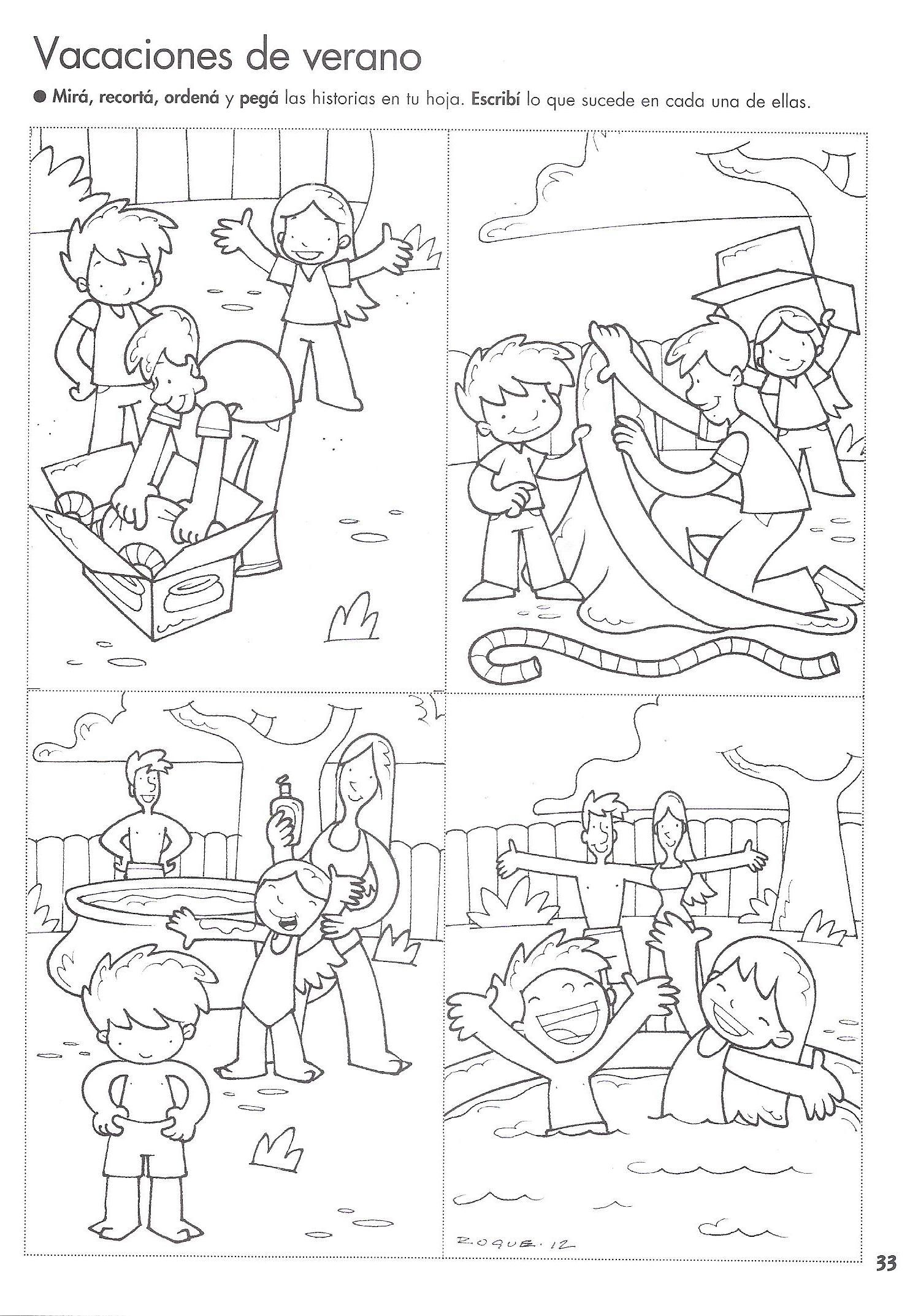 Storytelling Worksheets For Kindergarten