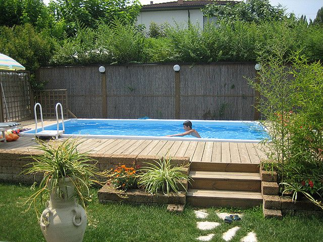 Foto Cliente 46 Pool Landscaping Budget Backyard Backyard